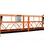 2.5mx 3 حصوں 1000kg تک رسائی پلیٹ فارم لفٹ کی رفتار 8-10 میٹر / منٹ معطل